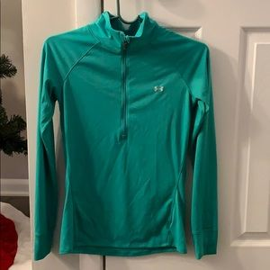 Mint fitted jacket. Under armour - worn once